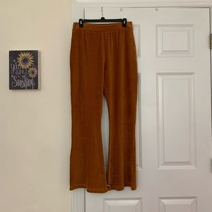 Fit and flare pants
